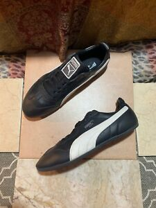 Details about Puma Ring Leather 6.5 US ART NO 347233 06 Black White