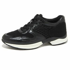Chaussures Noires Femmes Sportives De 9247n Baskets Chaussures Tod [38,5]