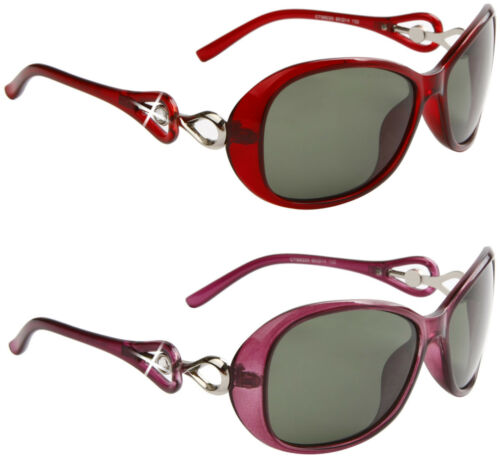 Designer Schmetterling Gewickelt Polarisierte Sonnenbrillen Vintage Fahren Damen