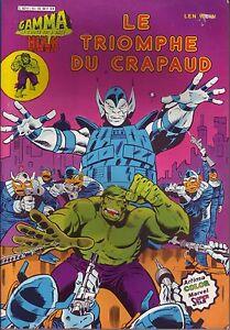 Hulk-N-15-Le-triomphe-du-Crapaud-Aredit-Marvel-1981-BE