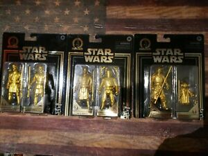 Star Wars Skywalker Saga Commemorative Edition Gold Set obi Mace Yoda Wave 2