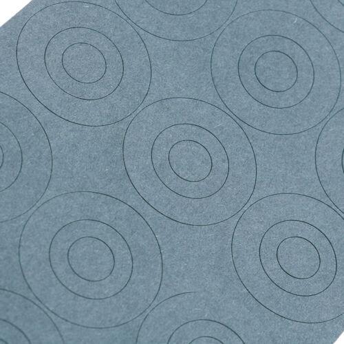 36Pcs 32650 battery hollow/&solid insulators adhesive paper gasket cardboard B X