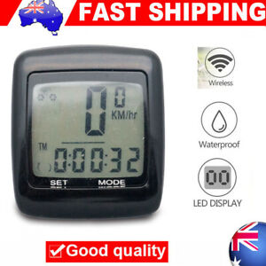 Waterproof-Wireless-Bicycle-Bike-Cycle-LCD-Digital-Computer-Speedometer-Odometer