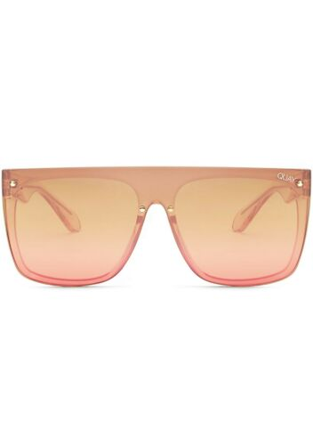 NEW QUAY AUSTRALIA X Nabilla Jaded Sunglasses in Pink Brown SALE