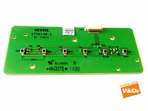 Details about TOSHIBA 40L1353DB 40 INCH DEL TV POWER BUTTON BOARD 17TK148-1  V2 110413