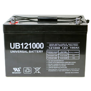 Mighty Max Battery 12V 100Ah SLA AGM Battery for ZTE ZXUPSE T080 UPS Brand Product