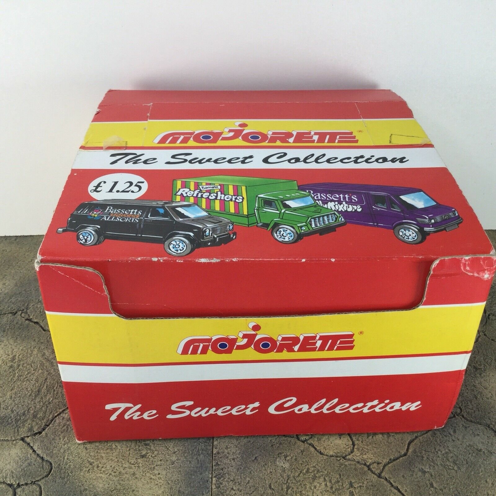 Majorette The Sweet Collection Complete Shop Display Toy Car Complete Unused