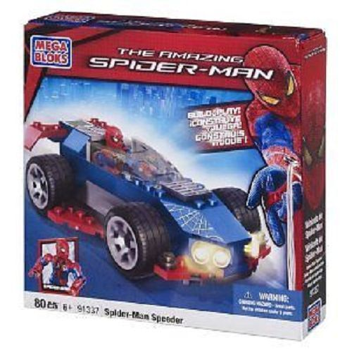 Mega Bloks Spiderman Stealth Speeder