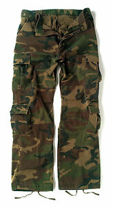 Vintage-Camo-Camouflage-Cargo-Pants-BDU-XS-through-4XL