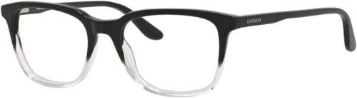 Black Crystal Fram 100/% AuthenticCarrera 6641 Eyeglass Frames CA6641-03NV-5118