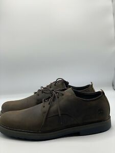 Timberland Brown Oxford Shoes Squall