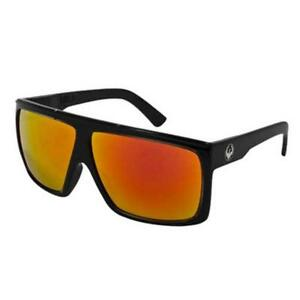 bffc12266d Image is loading Dragon-Fame-Sunglasses-Black-Jet-Red-Ion-Non-