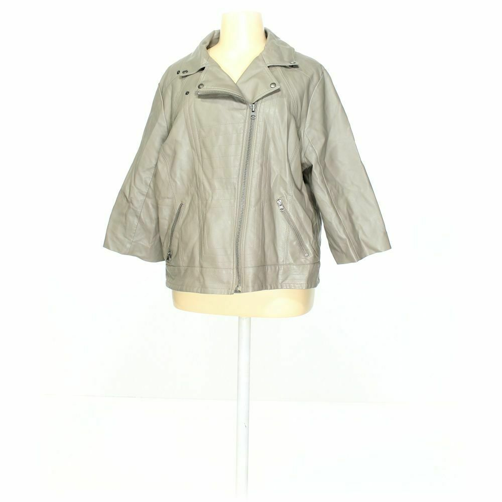 asos Women's Jacket size 22, beige, polyester, viscose, good condition