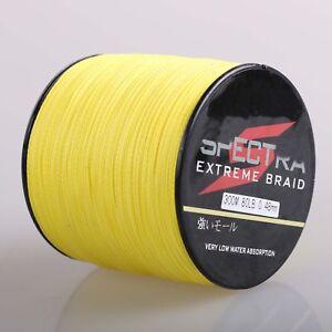 Dorisea-100M-300M-500M-1000M-Yellow-PE-Top-Dyneema-Braided-Fishing-Line-Pro
