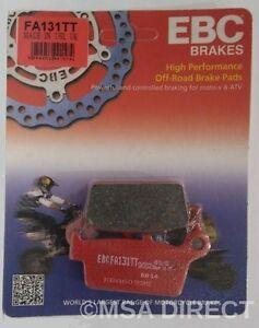 "Suzuki RM125 1996 to 2012 EBC /""R/"" Sintered REAR Brake Pads FA131R 1 Set"