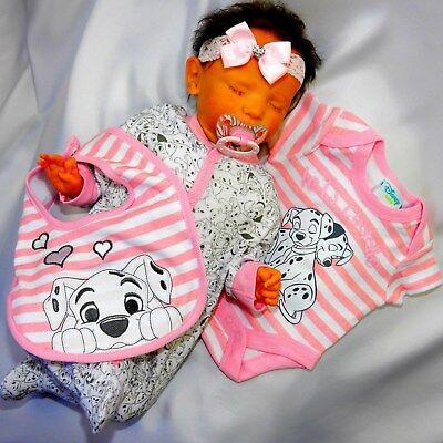 NEU Mädchen Baby 5-tlg Set Erstling Outfit Kleidung Love Rabbit Rosa Rot Cute