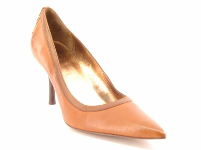 New CIRCA JOAN & DAVID Women Leather Heel Pointy Toe Dress Pump shoes Sz 7.5 M