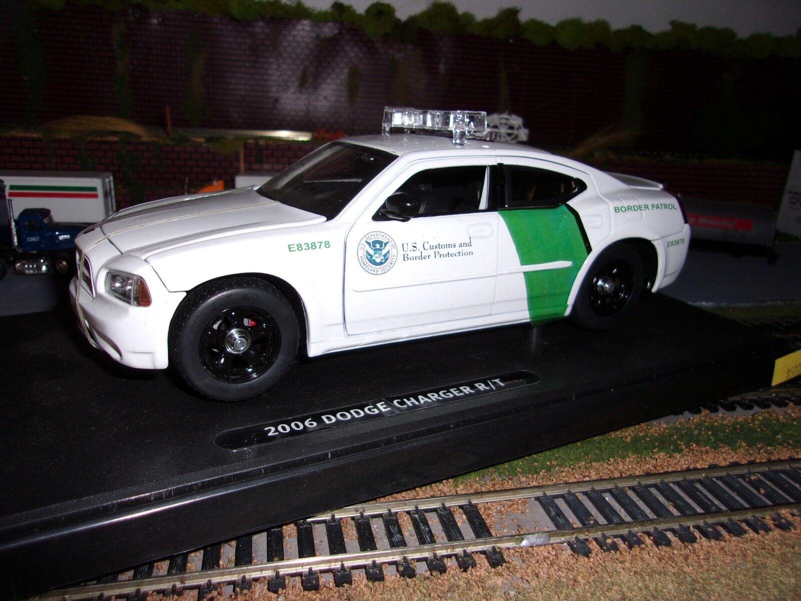 Personalizada Dodge Cargador nos frontera Patrol Car 1 24