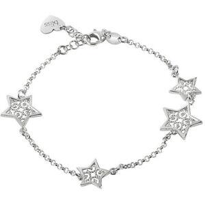 """Bliss Schmuck """" Stickerei """", Armband Damen mit Sternen aus Silber 925 (20081387)"""