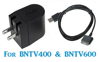 BNTV400 BNTV600 8G//16G//32G Genuine Power Kit Nook HD and HD