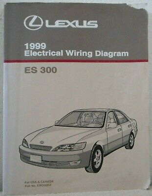 1999 LEXUS ES300 ELECTRICAL WIRING DIAGRAM MANUAL Toyota ...