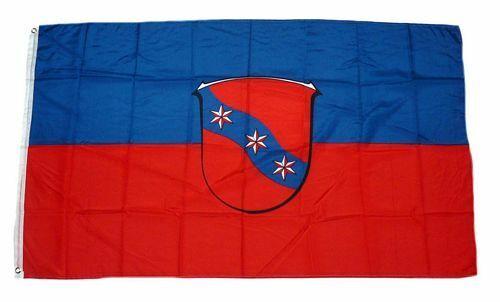 Bandiera//bandiera Erbach Odenwald hissflagge 90 x 150 cm