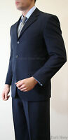 Two Piece Business Men's Solid Suit Formal Prom Dance Party Wedding Attire