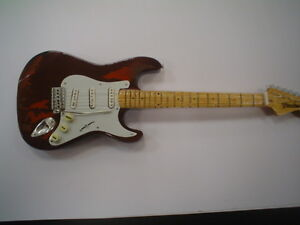 Miniature-Guitar-24cm-Tall-RORY-GALLAGHER-STRATOCASTER
