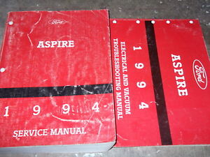 1994 FORD ASPIRE Service Repair Shop Manual Set W