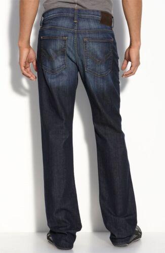 NWT WILLIAM RAST MEN JEANS FASHION LOGAN STRAIGHT LEG INDIA DARK BLUE