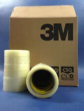 72 Rolls 1 X 66m 25mm X 66m 3m Scotch Clear Polypropylene Tape Sellotape