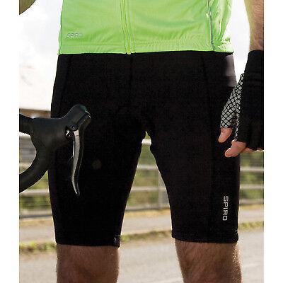 Men's Clothing Modest Spiro Mens Bikewear Padded Shorts 2 Layer Lightweight Sports Wear Running Shorts Refreshing And Enriching The Saliva