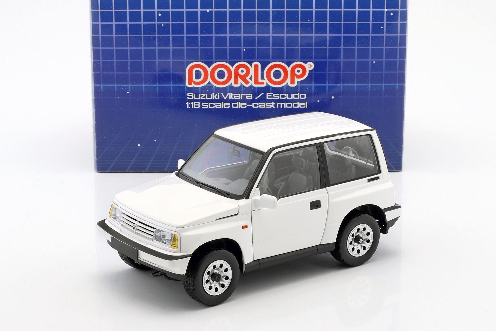 Suzuki Vitara weiss RHD 1988 - 1 18 Dorlop