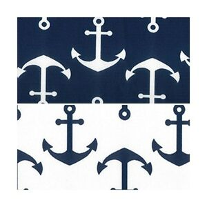 Boat-Anchors-Nautical-P-U-Coated-Water-Repellent-Canvas-Fabric-Waterproof