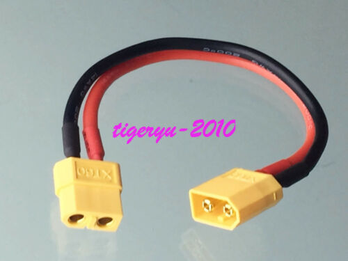 1pce XT60 male to XT-60 female Extension Cable for Battery