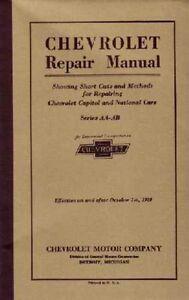 1927 1928 chevrolet car truck shop service repair manual engine rh ebay com