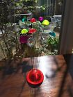 Vintage Mid Century Modern Lucite Ball Wire Kinetic Atomic Sculpture Bertoia Era