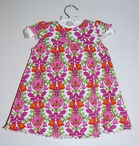 dff5c42d3 Vera Bradley Baby Infant Girls Pink Floral Lilli Bell 2pc Dress ...