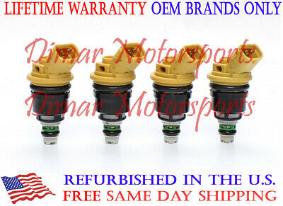 Genuine Jecs Single Fuel Injector For 2005-2009 Subaru Outback 2.5L Turbochrged