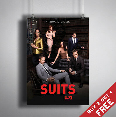 MOST POPULAR TV SERIES OF 2017 Glossy Poster Print A3 A4 Show Home Wall Art Deco