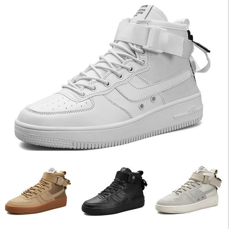 Men's 2019 Lace-up Hip-hop Breathable Dance Bash Comfort High Top Simple shoes