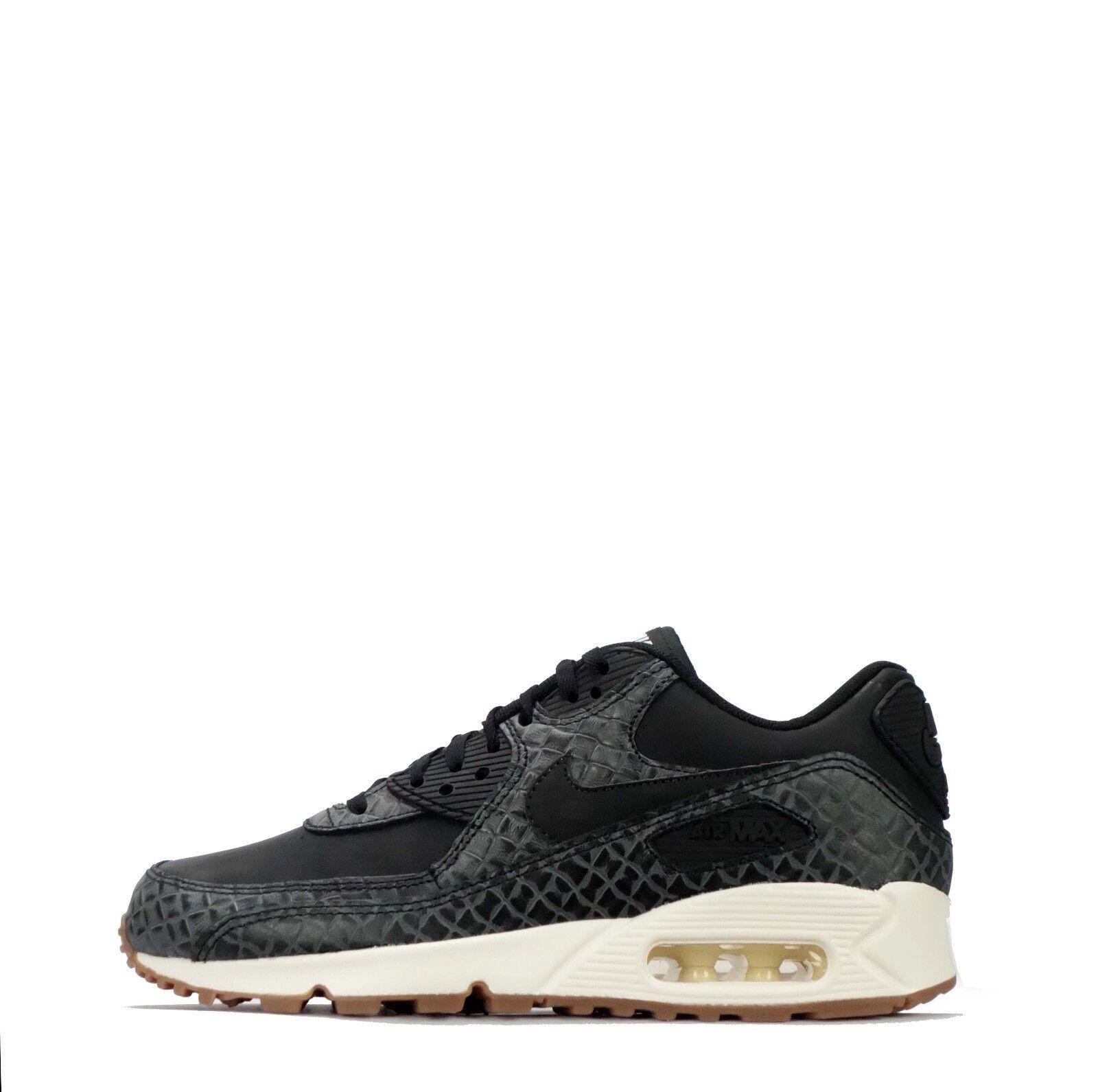 hot sale online 1f43a 27c17 Nike Air Max 90 Premio Da Donna In Nero   Vela fea962