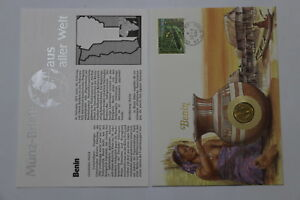 BENIN-WEST-AFRICAN-STATES-5-FRANCS-1972-COIN-COVER-A98-50