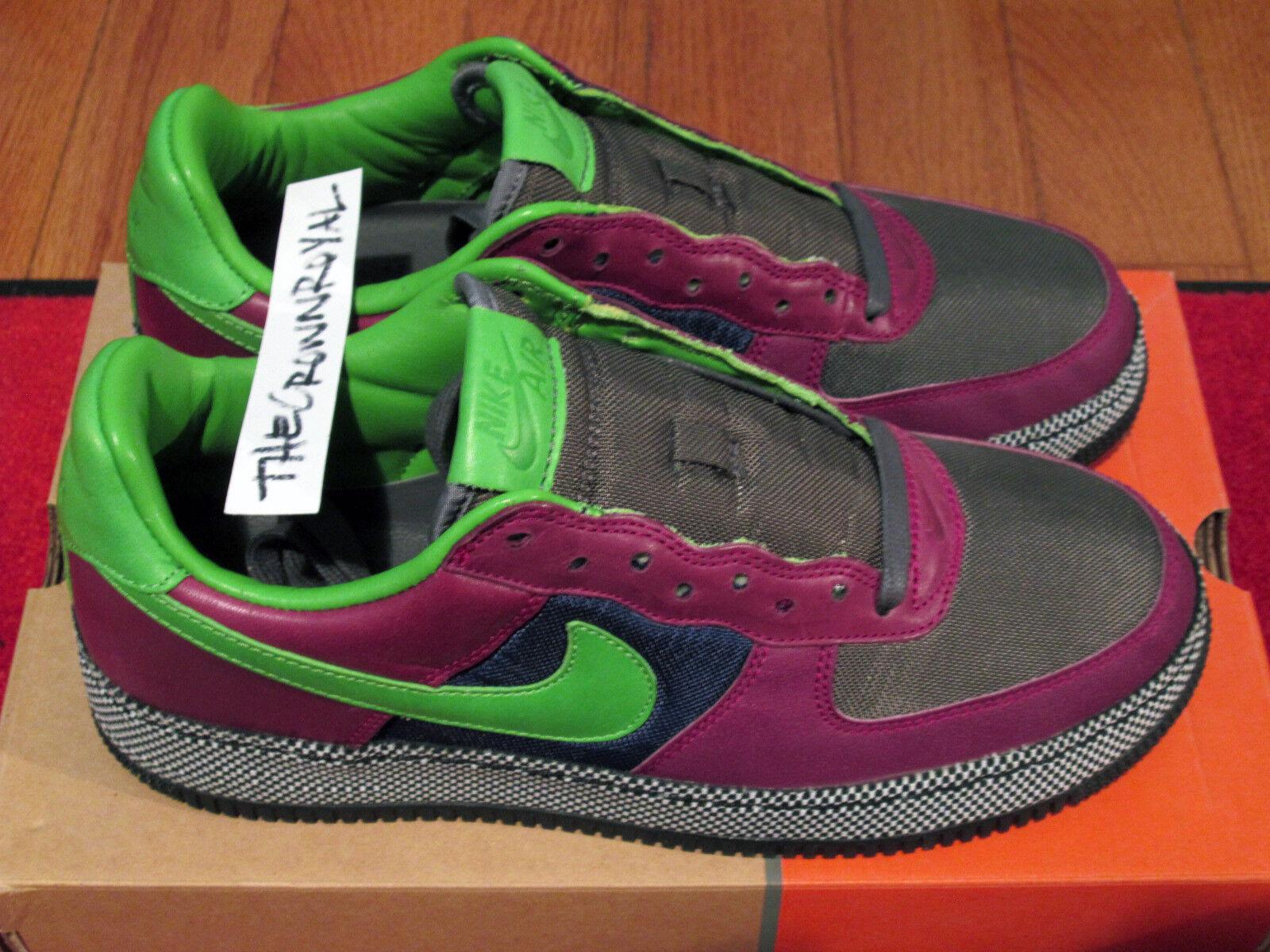 DS Nike Air Force 1 Huarache Pack 8 Polka Dot Denim Supreme The Ten Max Jordan 7