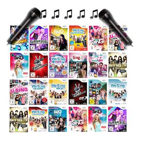 Nintendo Wii Karaoké We Sing Hits Party Jeux Et Micro Séléction