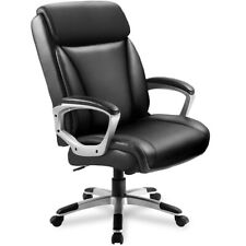 Comhoma Office Computer Desk Chair Executive High Back Chair Pu Leather Chair