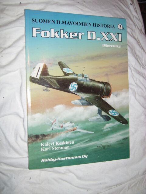 FOKKER D.XXI MERCURY-ENGINED FINLAND SUOMEN ILMAVOIMIEN