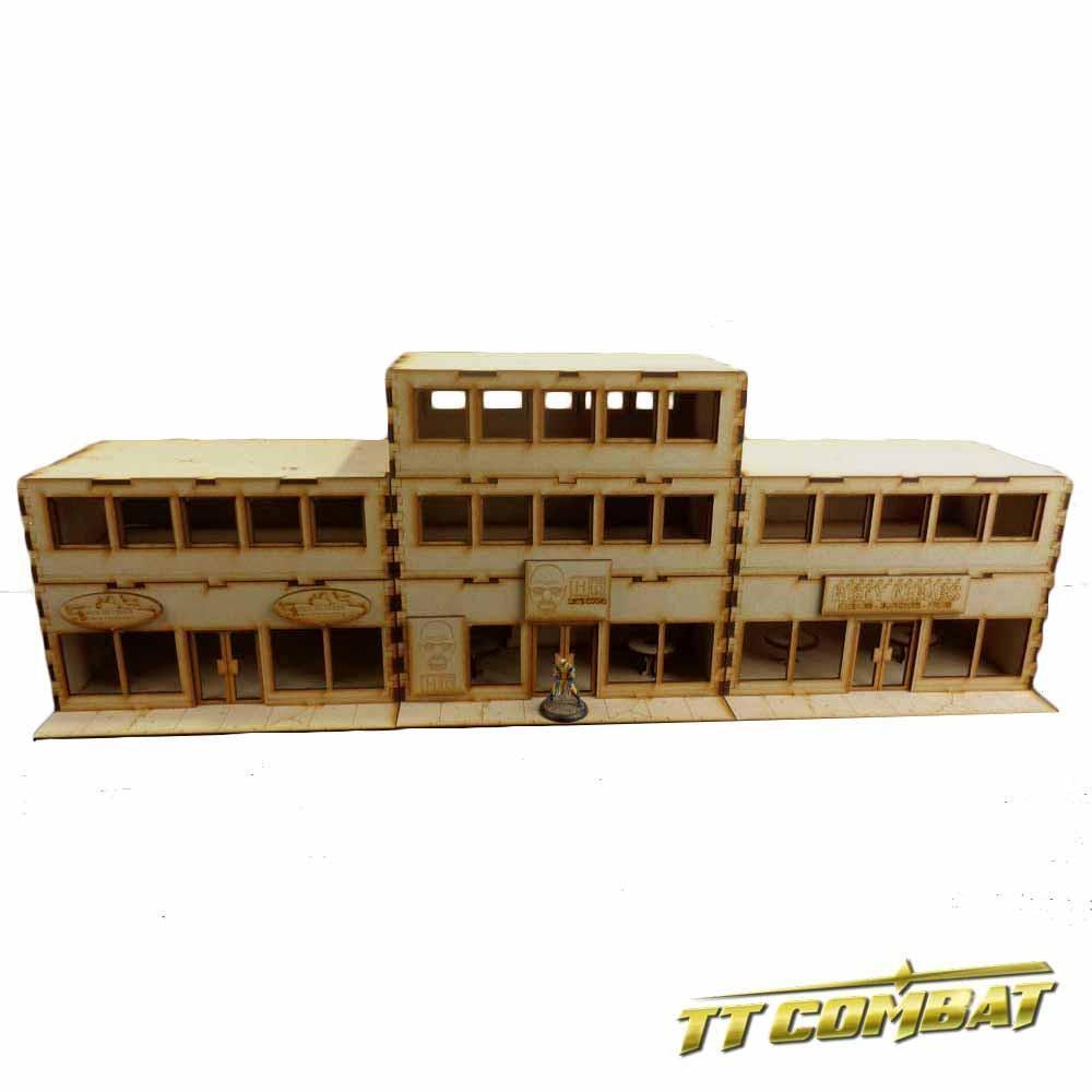 TTCombat - City Scenics - DCS033 - Takeaway Set