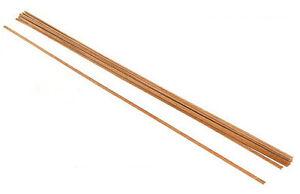 """Javis MS31638 kri - 16pcs x 3/16"""" x 3/8"""" x 36"""" Mahogany Boat Planking Strip Wood"""
