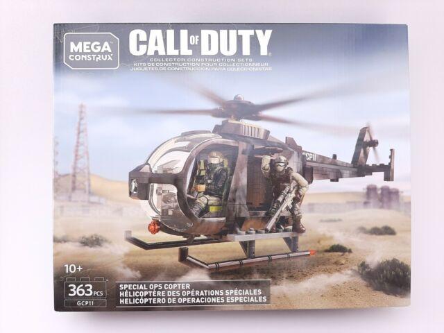 Mega Construx Call of Duty Special Ops Copter NEW GCP11 363pcs